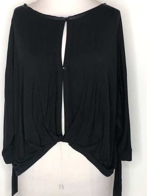 Free People Black Shirt Small