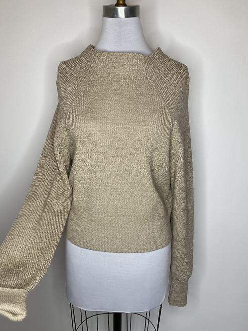 Free People Tan Sweater - Size XS