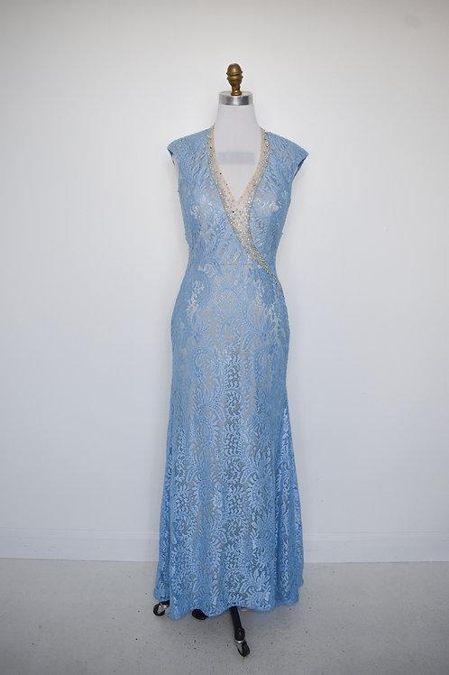 Tony Bowls Blue Lace - Size 8