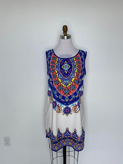 Blue Print dress Size 10