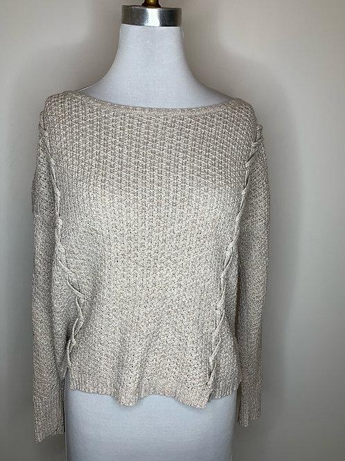 American Eagle Gray Sweater - Size Medium