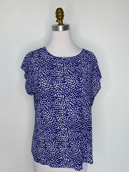 Blue Top Size Large