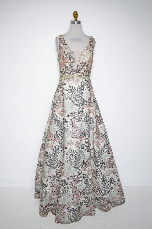 Floral Blush Ballgown - Size 12