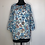 Thumbnail: NEW! Blue Floral Print Blouse Medium
