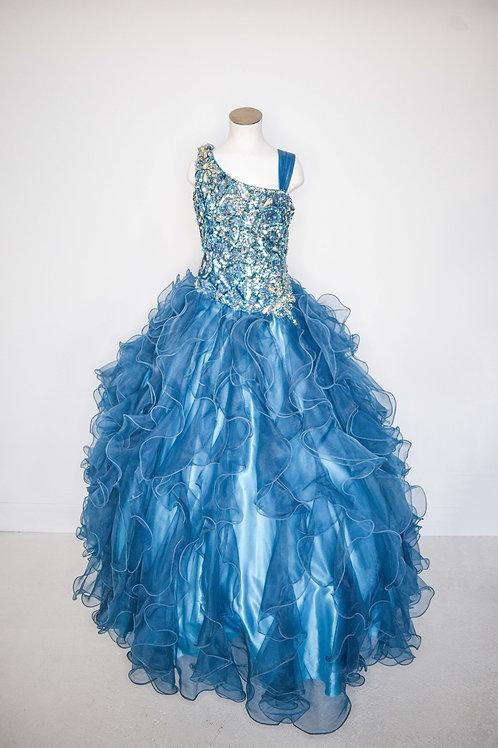 Tiffany Little Girls Pageant - Size 12