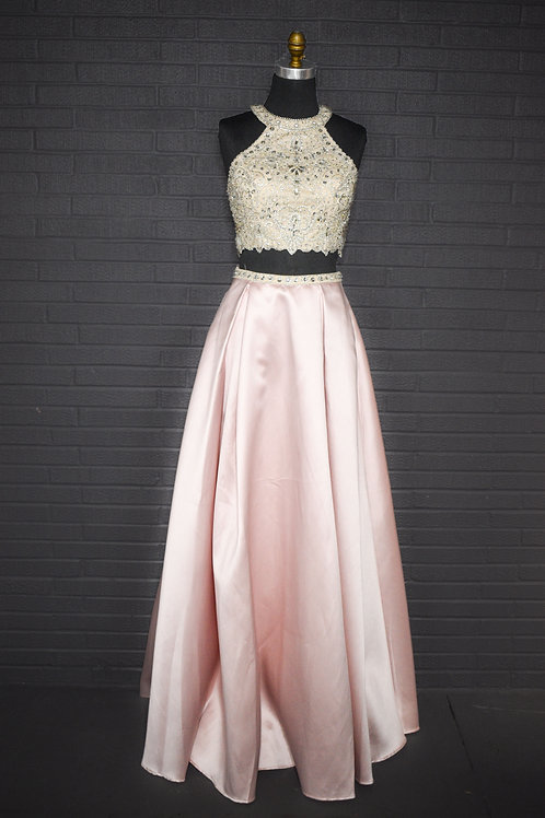 Light Pink Two Piece - Size 6