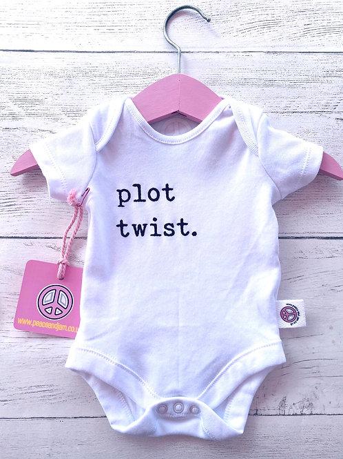'Plot Twist'  Onesie