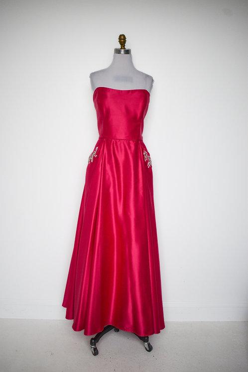Hot Pink Ballgown - Size 16