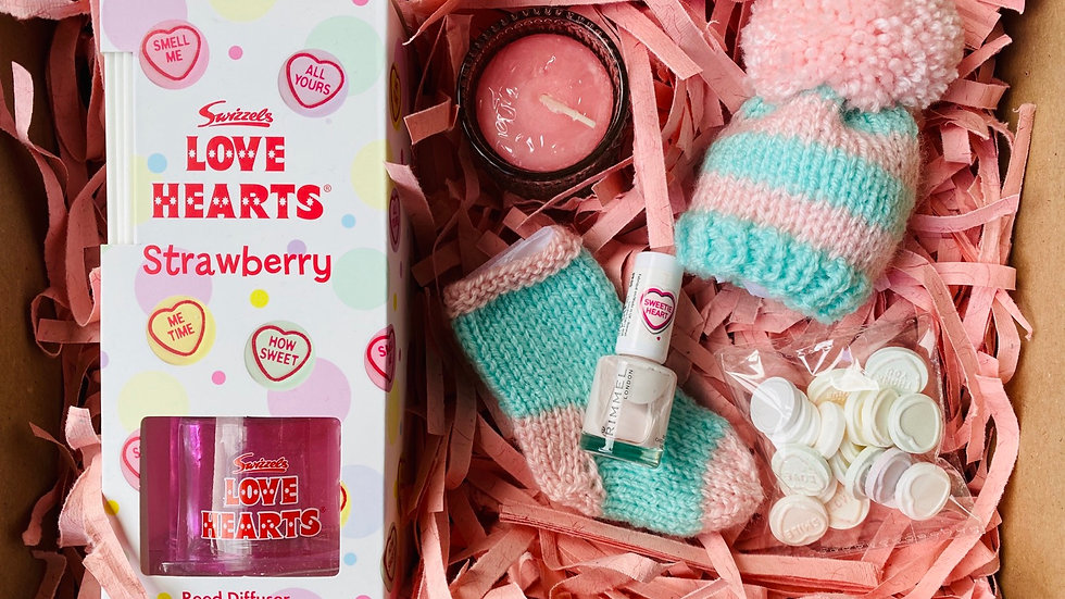 'Love Heart' Diffuser Mini Lux Hamper