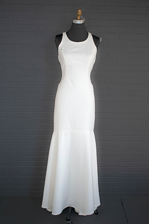 Nicole Miller Ivory Wedding Gown - Size 6