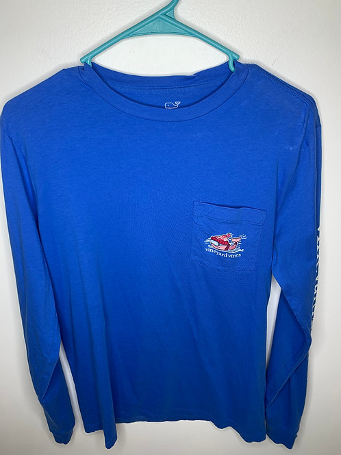 Vineyard Vines Blue Shirt - Size XS