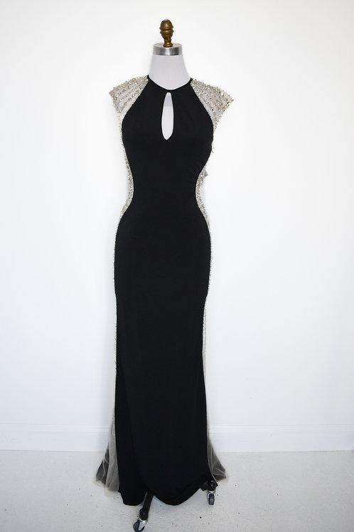 Jovani Black Jersey - Size 6