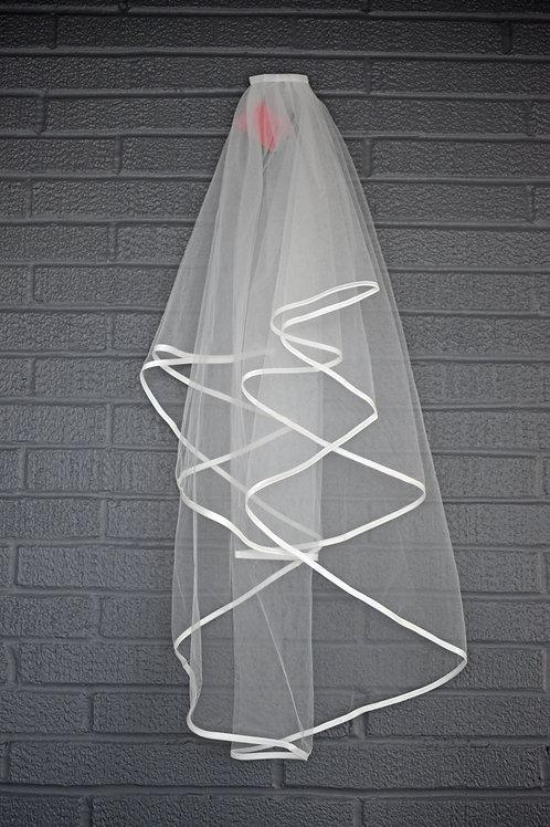 White Long Veil
