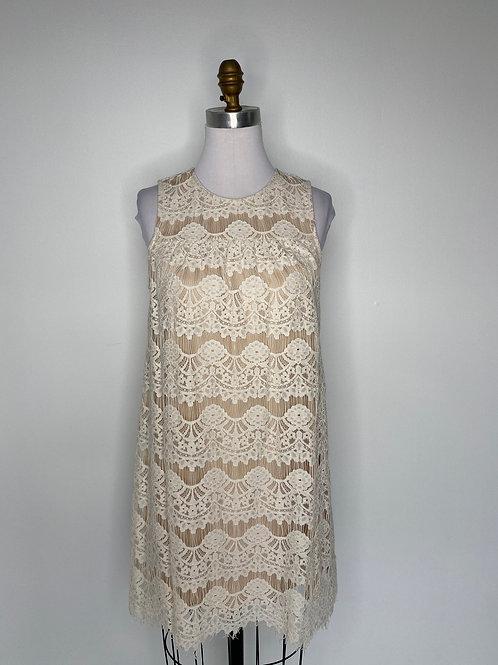 Ivory Lace Dress Size Small