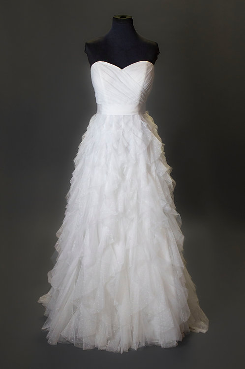 Ivory Wedding Gown - Size 10