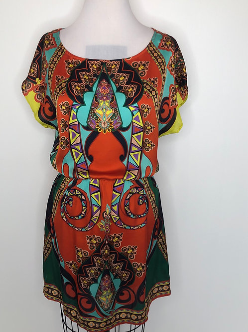 Multi-Color Dress Size 6
