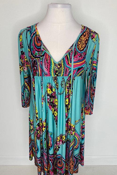 Multi color dress size 16