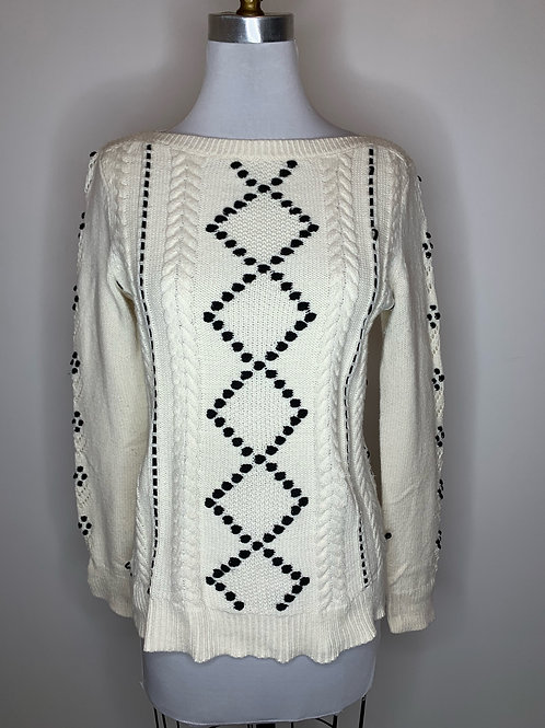 Talbots Ivory Sweater - Size Small