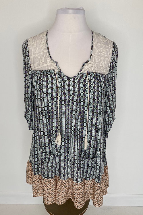Print dress size 16