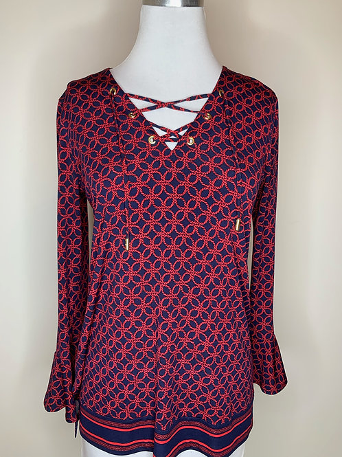 Michael Kors Red print - Size Small