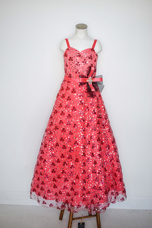 Tiffany Pink Girls Pageant - Size 6