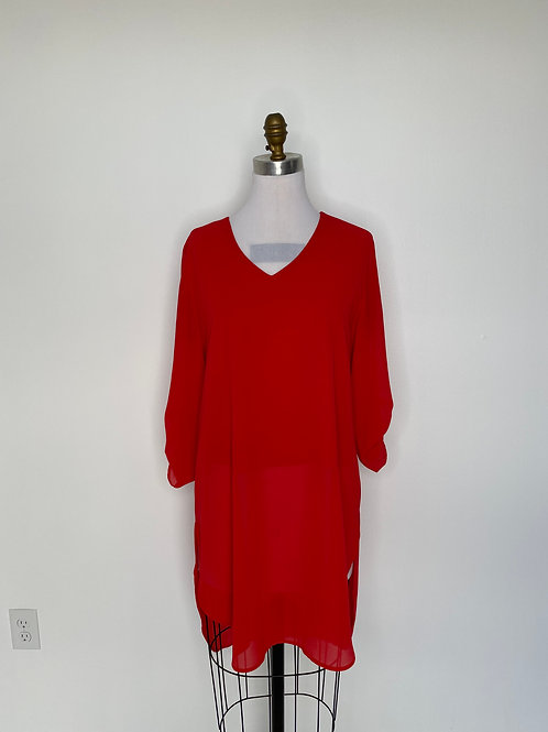Chico's Red Top Size 0