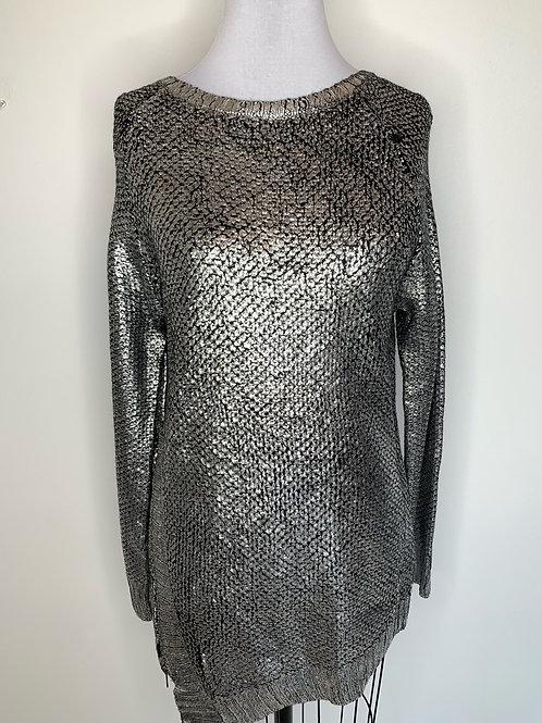 New Silver Sweater -Size Medium