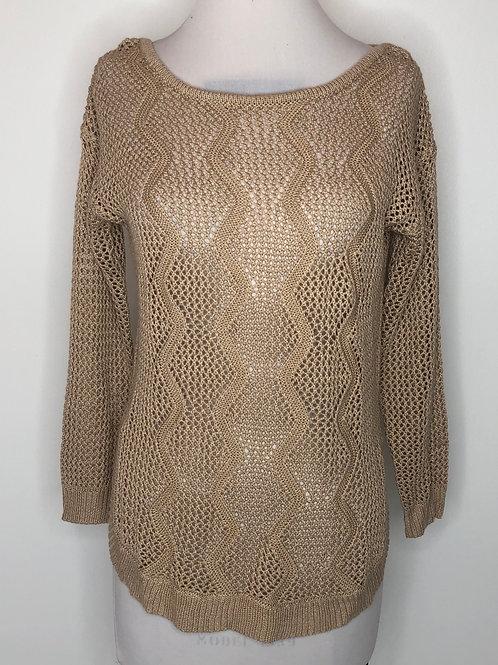 Tan Sweater Medium