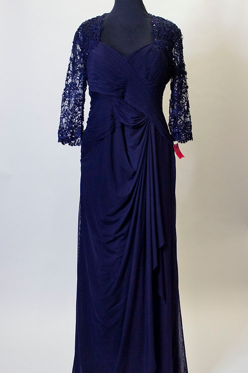 Mother of the Bride Mori Lee Navy - Size 20