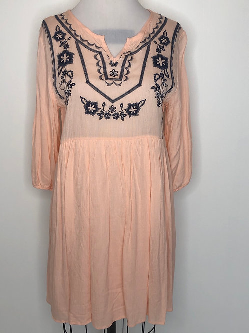 Peach Dress Size 8