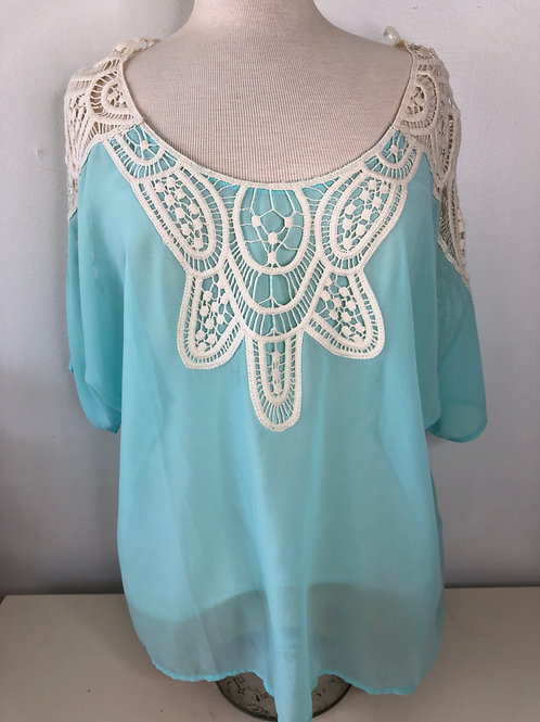 Turquoise Top Size Medium