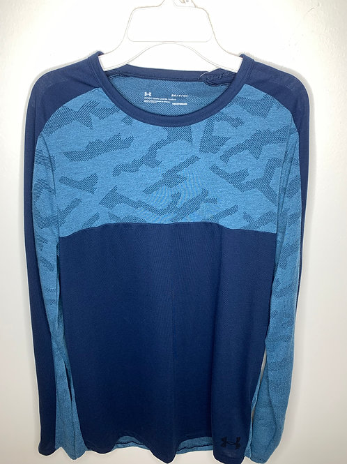 Under Amour Blue Shirt - Size Small
