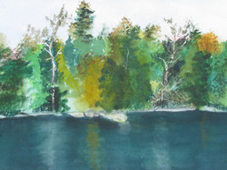Early Fall - Watercolor