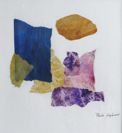 Rock Study - Watercolor Collage