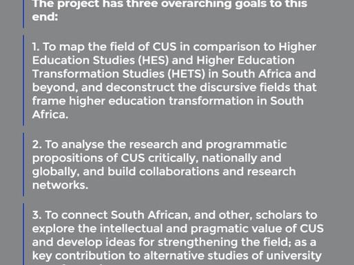 Critical University Studies Project at CriSHET