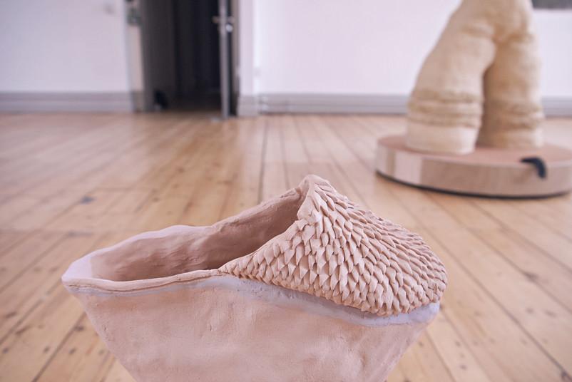 'Croc vase', ceramic stoneware vase, 42