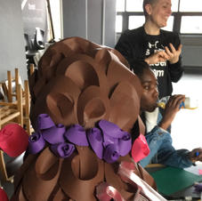 'Paper Headress Making' Craft Workshop supported by AKT Charity, March 2020