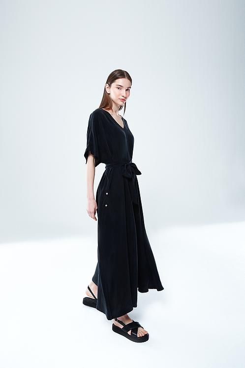 Giyi No.8 Back To Front Elbise Siyah