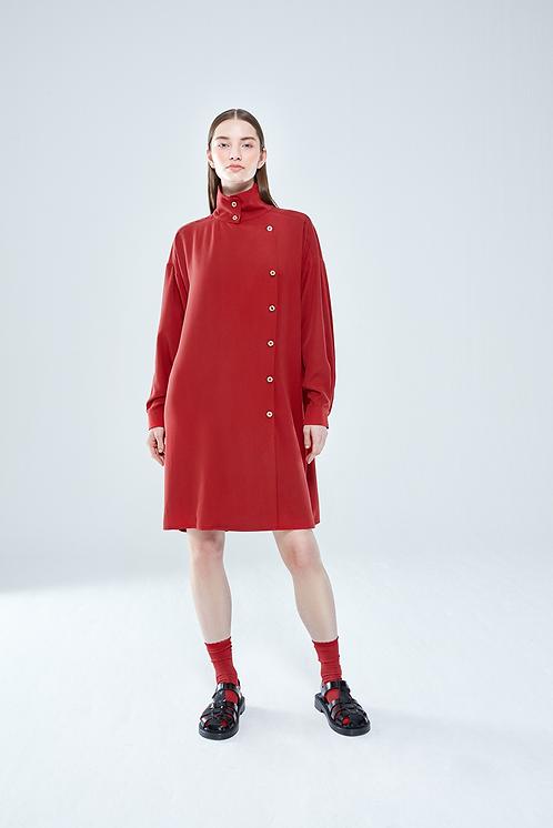 Giyi Light Trenç Kırmızı