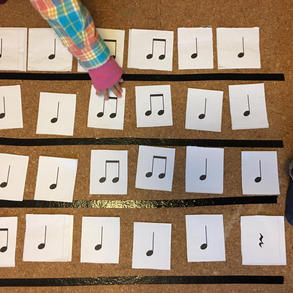 Music theory for pre-schoolers