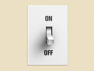 THE ON AND OFF SWITCH