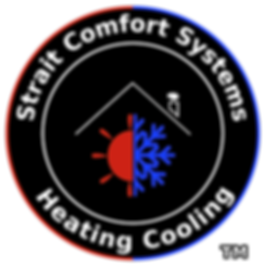 Logo for strait comfort systems heating and cooling port angeles wa