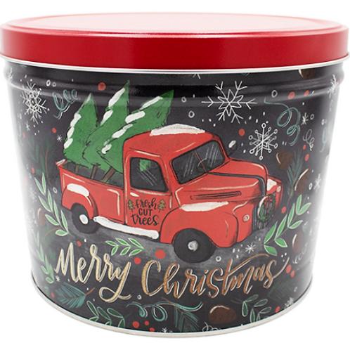 Tree Farm Truck Tin - Two Gallon