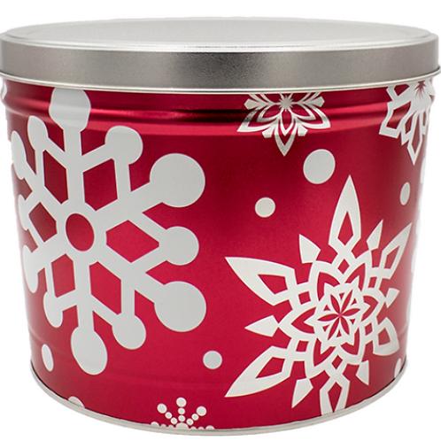 Let it Snow Tin - Two Gallon