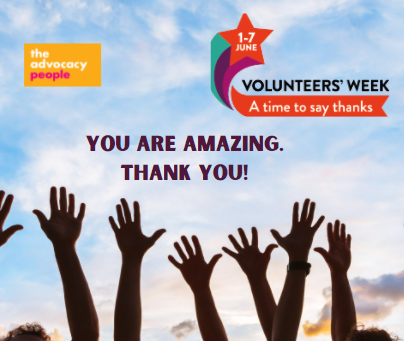 Volunteers Week 2021:  A time to say Thank You!