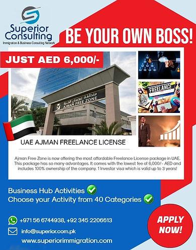 UAE Freelance Visa   Best Immigration Consultants in Karachi