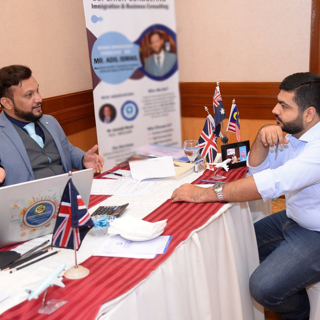 ADIL ISMAIL best immmigration consultant
