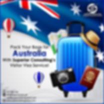 Australia Visit Visa Service from Karachi Pakistan and UAE   Superior Consulting