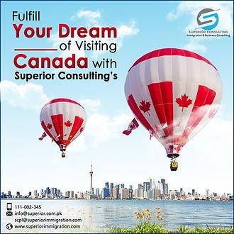 Canada Visit Visa Service from Karachi Pakistan and UAE | Superior Consulting