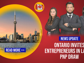 Ontario Invites Entrepreneurs in Latest OINP Draw | Business Immigration to Canada